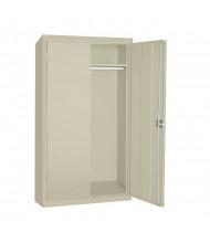 Sandusky Elite Wardrobe Storage Cabinets, Assembled (Shown in Putty)