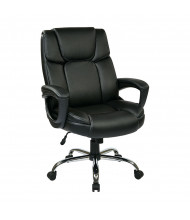 Office Star Big & Tall 350 lb. Eco-Leather High-Back Office Chair