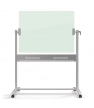 Quartet ECM43G 4 x 3 Infinity Glass Mobile Whiteboard