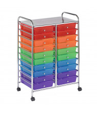 "ECR4Kids 38"" H 20-Drawer Mobile Classroom Organizer (Shown in Assorted)"