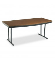 Barricks Boat-Shaped Economy Conference Folding Table