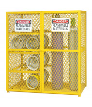 Durham Steel Combination Gas Cylinder Storage Cabinet