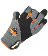ergodyne ProFlex 720 Heavy-Duty Framing Glove, Gray, Small