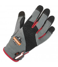 ergodyne ProFlex 710CR Heavy-Duty + Cut Resistance Glove, Gray, Medium