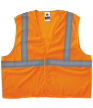 ergodyne GloWear 8205HL Type R Class 2 Super Econo Mesh Vest, Orange, S/M