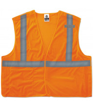 ergodyne GloWear 8215BA Type R Class 2 Econo Breakaway Mesh Vest, Orange, L/XL