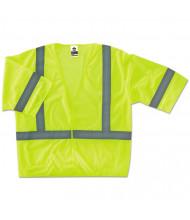 ergodyne GloWear 8310HL Type R Class 3 Economy Mesh Vest, Lime, 2XL/3XL