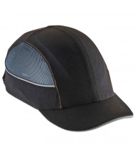 ergodyne Skullerz 8960 Bump Cap w/LED Lighting Technology, Short Brim, Black