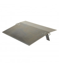 "Vestil 0.5"" Thick Aluminum Dock Plates 3000 to 10,000 lb Load"