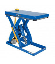 Vestil Electric Hydraulic 1000 to 6000 lb Load Scissor Lift Tables (EHLT-2448-3-43)