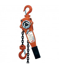 Vestil 5 ft. to 20 ft. 500 to 6000 lb Load Economy Lever Hoist, Disc Brake
