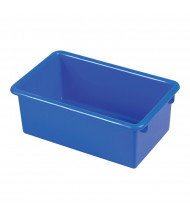 ECR4Kids Stack & Store Plastic Tub, 6 Pack (Shown in Blue)