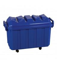 ECR4Kids 18-Gallon Stackable Classroom Storage Trunk, 4 Piece