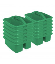 ECR4Kids Large Art Caddy Classroom Storage Tray Set, 12 Pack (Shown in Green)