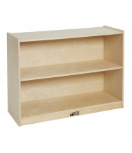 ECR4Kids Birch 2-Shelf Classroom Storage Cabinet with Back
