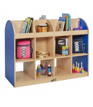 """ECR4Kids Colorful Essentials 36"""" W Double Sided Book Stand (Shown in Blue)"""
