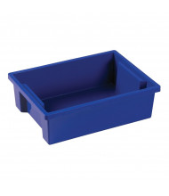 ECR4Kids Small Plastic Storage Bins, 8 Pack (Shown in Blue)