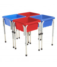ECR4Kids 4-Station Sand and Water Activity Table