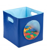ECR4Kids SoftZone Peek-A-Boo Storage Bin (Shown in Blue)