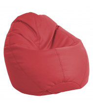 ECR4Kids SoftZone Dew Drop Preschool Bean Bag Chair (Shown in Red)