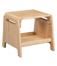 "ECR4Kids 13"" H Sit or Step Preschool Stool"
