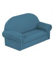 ECR4Kids SoftZone Little Lux Sofa (Shown in Teal)