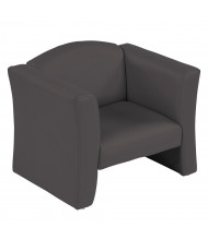 ECR4Kids Gum Drop Preschool Chair, Black