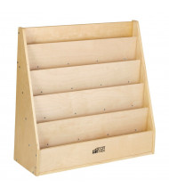 "ECR4Kids 30"" W Birch Streamline Book Display"