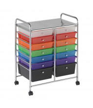 "ECR4Kids 31.75"" H 14-Drawer Mobile Classroom Organizer (Shown in Assorted)"