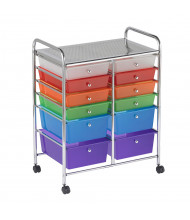"ECR4Kids 31.75"" H 12-Drawer Mobile Classroom Organizer (Shown in Assorted)"