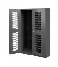 Durham Steel 16-Gauge Ventilated Storage Cabinet