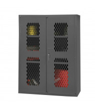 Durham Steel 2-Shelf 16-Gauge Ventilated Storage Cabinet