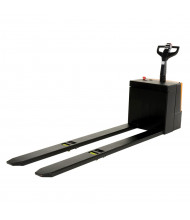 """Vestil Electric 4500 lb Capacity Pallet Truck with Extra Long Forks 27"""" W x 96"""" L"""