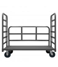 Durham Steel 3600 lb Load 3-Sided Steel Platform Trucks
