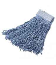 Rubbermaid 16 oz. Synthetic Mop Head, Blue, Pack of 6