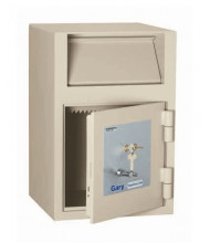 FireKing FB2114-RK Gary Dual-Nose Key Front Pull 1.6 cu. ft. Depository Safe
