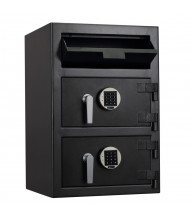 "Protex FDD-3020 II 3.6 cu. ft. ""B"" Rated Dual-Door Front Loading Depository Safe"