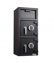 "Protex FDD-3214 1.75 cu. ft. ""B"" Rated Dual-Door Depository Safe"