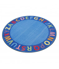 ECR4Kids A-Z Circle Time Seating Classroom Rug