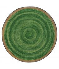 Joy Carpets Feeling Natural Round Classroom Rug, Pine