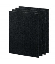 Fellowes Large Carbon Filters for AeraMax 290, Pack of 4