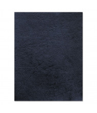 "Fellowes 7.5 Mil 8.5"" x 11"" Square Corner Navy Binding Cover, 50/Pack"