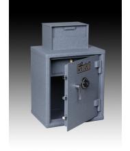 Gardall FL2522-2 2.14 cu. ft. Heavy-Duty Cash Register Safe with 2 Adjustable Shelves