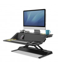 Fellowes Lotus Sit-Stand Converter Desk Riser (Shown in Black)