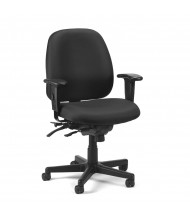Eurotech 4x4 SL FM498SL Multifunction Fabric Mid-Back Task Chair (Shown in Black)