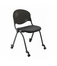 KFI Seating FP2000-P10 Flip-Up Fabric Stacking Chair