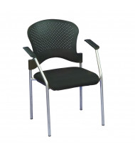 Eurotech Breeze FS8277 Plastic-Back Fabric Low-Back Guest Chair