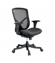 Eurotech Fuzion Basic FUZ5B-LO Mesh Mid-Back Executive Office Chair