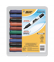 BIC Great Erase Grip Dry Erase Marker, Chisel Tip, Assorted, 30-Pack