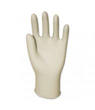 GEN Latex General-Purpose Gloves, Powder-Free, Natural, Medium, 4.4 mil, 1,000/Pack